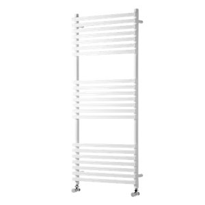 Wickes Invent Square Tube Vertical White 1186x500mm