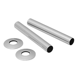Towelrads Radiator Tube and Sleeves - Chrome