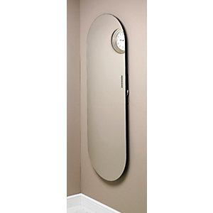 Wickes Soap Glass Radiator Mirror Water 1380 x 500mm