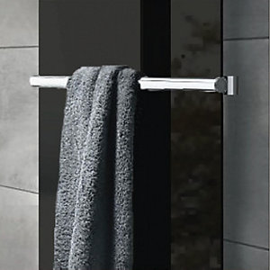 Wickes Glass Radiator Towel Bar