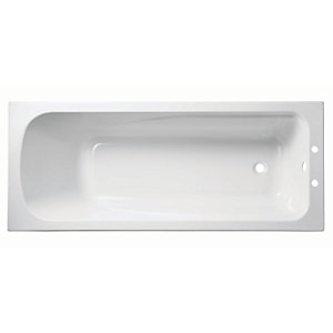 Wickes Standard Acrylic Bath White 1700mm