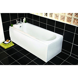 Wickes Naples Bath Front Panel White 1685mm