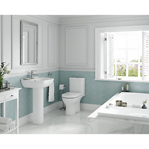 Wickes Vieste with Wave Right Hand Corner Bath