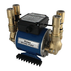 Wickes Twin Impeller Shower Pump 2 Bar