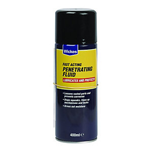 Wickes General Purpose Penetrating Fluid 400ml