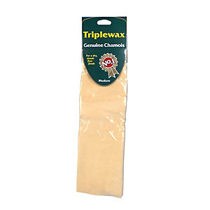 Triplewax GENUINE Chamois leather