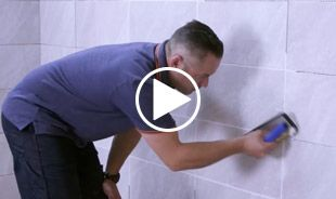 How to grout