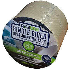 Visqueen Pro Single Sided Jointing Tape 75mm x 25m RS020777