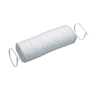 Wickes Flexible Round Ducting Including Cable Ties 150mm x 1m