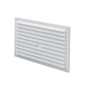 Wickes White Gas Vent 225x150mm