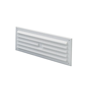 Wickes White Gas Vent 225x75mm