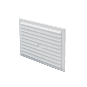 Wickes Louvre & Fly Screen 225 x 150mm