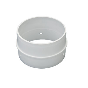 Wickes Round Ducting Connector 105mm