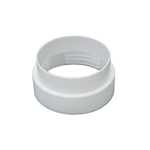Wickes Male Flexible Round Hose Connector