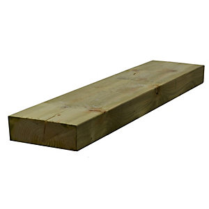 Sawn Timber Regularised Treated C16 75mm x 225mm x 5.4m