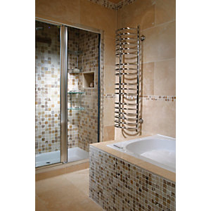 Wickes Classic Kremna Travertine Wall & Floor Tile 600 x 400mm