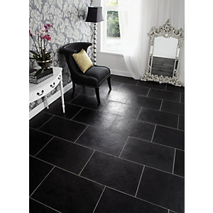 Wickes Chiltern Brushed Limestone Wall & Floor Tile 600 x 400mm