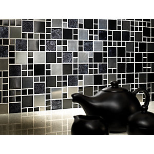 Wickes Metallic Modular Mosaic Tile 300 x 300mm