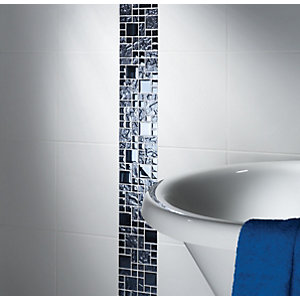 Wickes Reflective Modular Mosaic Tile 300 x 300mm