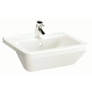 Wickes Soft Square Semi Recessed Basin