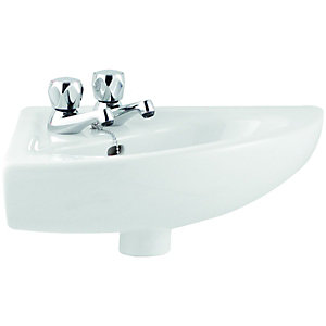 Wickes Corner Basin 565mm