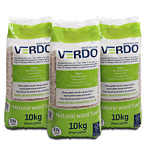 Verdo Wood Pellets 10kg Pack 96 - 1 Pallet