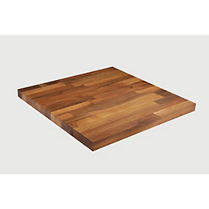 Wickes Solid Wood Walnut Upstand 18x70x3000mm