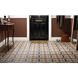 Wickes Dorset Marron Floor Tile 316x316mm