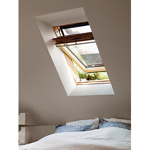 VELUX GGL CK04 3050 Roof Window Pine Centre Pivot Clear Glass 980x550mm
