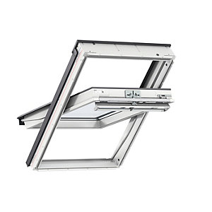 VELUX GGU UK08 0050 Roof Window White Centre Pivot Clear Glass 1400x1340mm