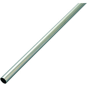 Wickes Copper Tube Chrome Plate 15mmx2m