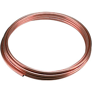 Wickes Microbore Copper Tube 10mmx10m