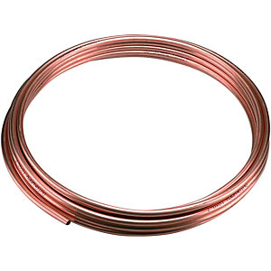 Wickes Copper Tube Microbore 8mmx10m
