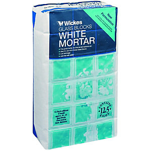 Wickes Glass Block Mortar Mix Adhesive 12.5kg