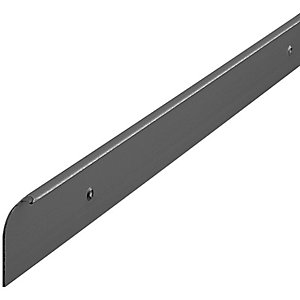 Wickes Worktop End Cap Trim Black 38mm