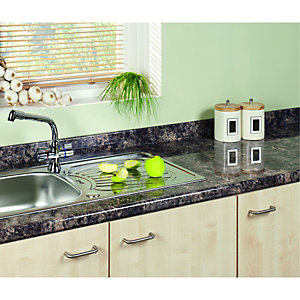 Wickes Caribbean Gloss Upstand 3m