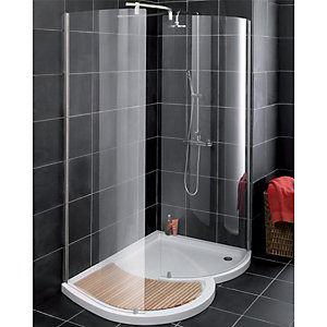 Wickes Organic Right Hand Walk-In Enclosure 1400x1000mm