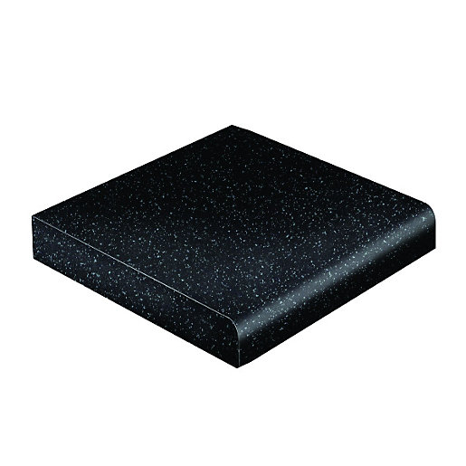 Wickes Black Matt Upstand 3m