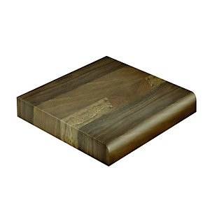 Wickes Upstand Blocked Oak with Grain Effect 3000 x 70 x 12mm