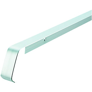 Wickes Worktop Straight Joint Trim Matt Silver 38mm