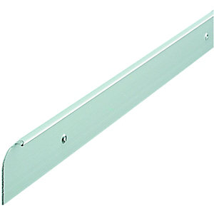 Wickes Worktop End Cover Trim Matt Silver 28mm
