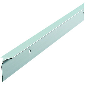 Wickes Worktop Corner Joint Trim Silver Effect 28mm
