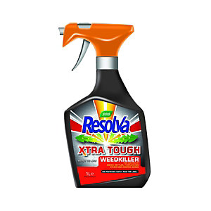 Westland Resolva Xtra Tough Weedkiller Ready to Use Spray 1L