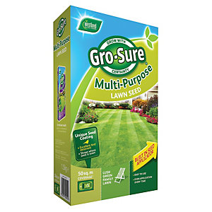 Gro-sure Multi Purpose Lawn Seed 50m2