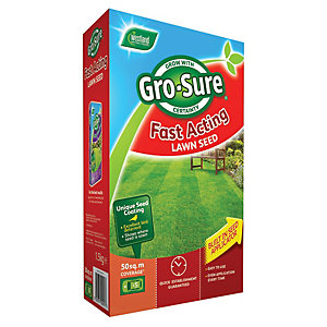 Image of Gro-sure Fast Acting Lawn Seed 50m2