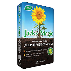 Jacks Magic Traditional Compost 60L