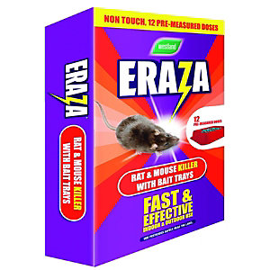 Westland Eraza Rat & Mouse Killer with Bait Tray 3 Pack