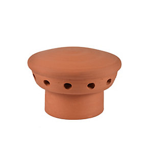 Hepworth Chimney Pot Fluevent Red 180mm