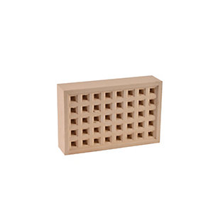Hepworth Square Hole Airbrick Buff 140mm