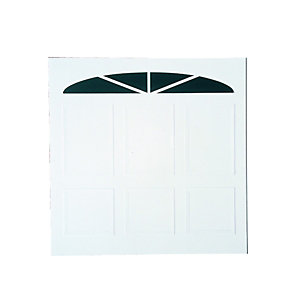 Wickes Bronte Glosswhite Framed Canopy Garage Door 2134 x 2134mm